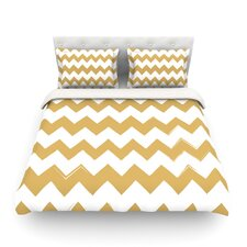 Candy Cane Chevron Light Cotton Duvet Cover