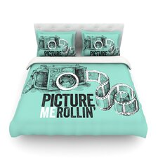 Picture Me Rollin Light Cotton Duvet Cover