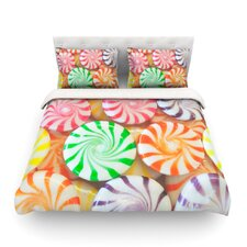 I Want Candy by Libertad Leal Light Cotton Duvet Cover