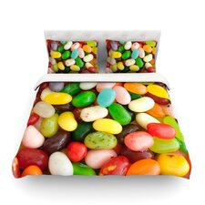 I Want Jelly Beans by Libertad Leal Light Cotton Duvet Cover