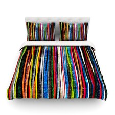 Fancy Stripes by Frederic Levy-Hadida Light Cotton Duvet Cover