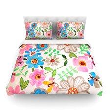 The Garden by Louise Machado Light Cotton Duvet Cover