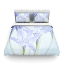 Triplet Lily by Iris Lehnhardt Light Cotton Duvet Cover