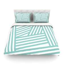 Stripes by Louise Machado Light Cotton Duvet Cover