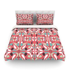 Stained Glass by Miranda Mol Light Cotton Duvet Cover