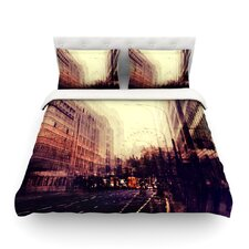 London by Ingrid Beddoes Light Cotton Duvet Cover