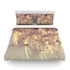 Sparkles of Gold by Ingrid Beddoes Light Cotton Duvet Cover