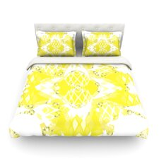 Citrus Spritz by Miranda Mol Light Cotton Duvet Cover