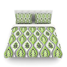Oak Leaf by Jacqueline Milton Light Cotton Duvet Cover