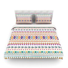 Native Fiesta by Nika Martinez Light Cotton Duvet Cover
