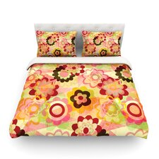 Colorful Mix by Louise Machado Light Cotton Duvet Cover