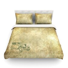 Deco Car by Light Cotton Duvet Cover