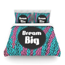 Dream Big by Pom Graphic Design Cotton Duvet Cover