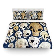 Skulls by Jaidyn Erickson Light Cotton Duvet Cover