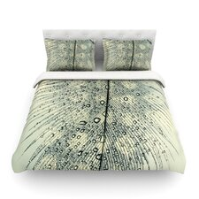 Feather Light by Ingrid Beddoes Light Cotton Duvet Cover