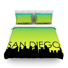 San Diego Light Cotton Duvet Cover