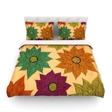 Color Me Floral by Pom Graphic Design Cotton Duvet Cover