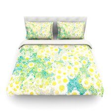 Myatts Meadow by Kathryn Pledger Light Cotton Duvet Cover