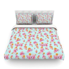 Paper Flower by Laura Escalante Light Cotton Duvet Cover