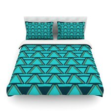 Deco Angles by Nina May Cotton Duvet Cover