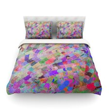 Abstract by Marianna Tankelevich Rainbow Cotton Duvet Cover