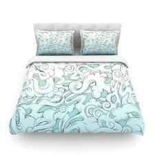 Entangled Souls by Mat Miller Light Cotton Duvet Cover
