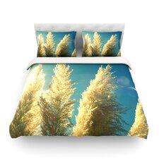 Ornamental Grass by Robin Dickinson Woven Duvet Cover