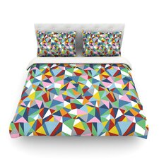 Abstraction by Project M Rainbow Abstract Cotton Duvet Cover