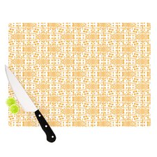 Diamonds by Apple Kaur Designs Squares Cutting Board