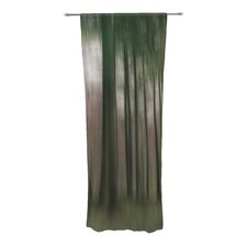 Forest Blur Curtain Panels (Set of 2)
