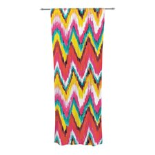 Painted Chevron Curtain Panels (Set of 2)