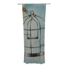 Bird Cage Curtain Panels (Set of 2)