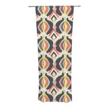 Bohemian Ikat Curtain Panels (Set of 2)
