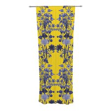 Bloom Flower Curtain Panels (Set of 2)
