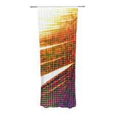 Feather Pop Curtain Panels (Set of 2)