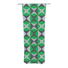 Abstract Curtain Panels (Set of 2)