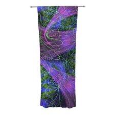 Floral Garden Curtain Panels (Set of 2)