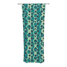Bubbles Made of Paper Curtain Panels (Set of 2)