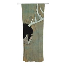 Antlers Curtain Panels (Set of 2)