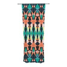 Triangle Visions Curtain Panels (Set of 2)