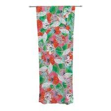 Flying Tulips Curtain Panels (Set of 2)
