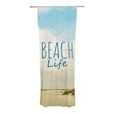 Beach Life Curtain Panels (Set of 2)
