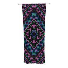 Neon Pattern Curtain Panels (Set of 2)