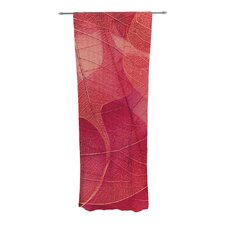 Delicate Leaves Curtain Panels (Set of 2)