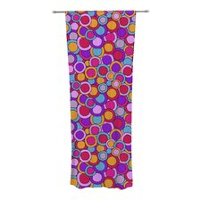My Colorful Circles Curtain Panels (Set of 2)