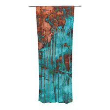 Rusty Teal Curtain Panels (Set of 2)