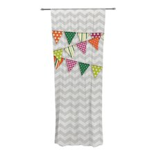 Flags 1 Curtain Panels (Set of 2)
