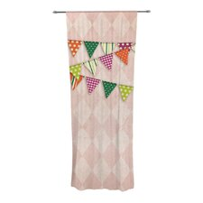 Flags 2 Curtain Panels (Set of 2)