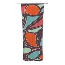 Retro Swirl Curtain Panels (Set of 2)