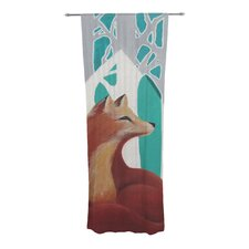 Fox Forest Curtain Panels (Set of 2)